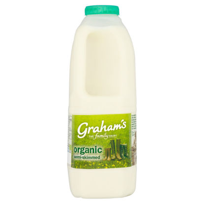 Picture of Organic Semi-Skimmed Milk 2 Pints