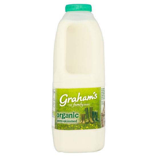 Picture of Organic Semi-Skimmed Milk 2 Pints