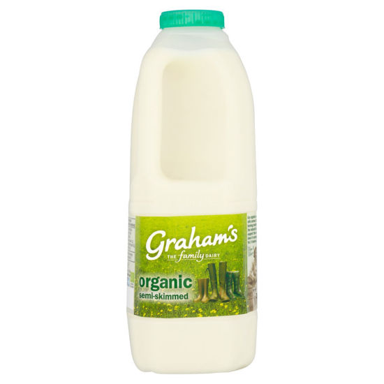 Picture of Organic Semi-Skimmed Milk 1 Pint