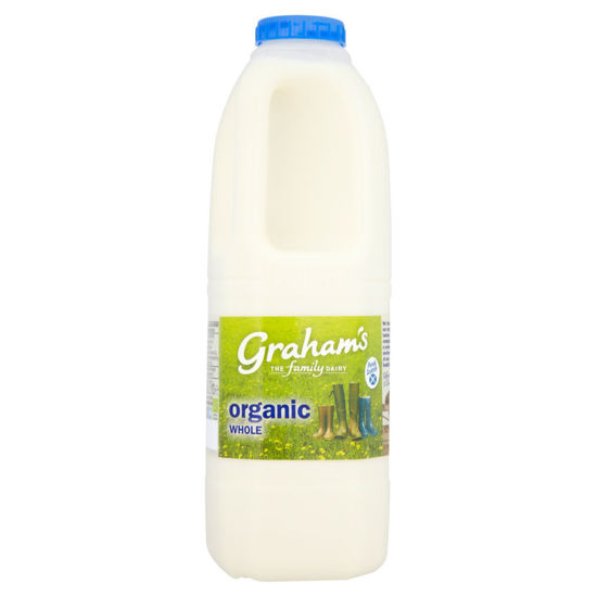 Picture of Organic Whole Milk 4 Pint