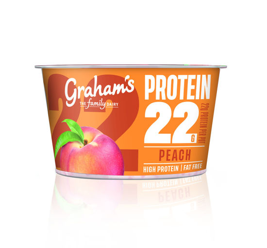 Picture of Protein 22 Peach 190g x 6
