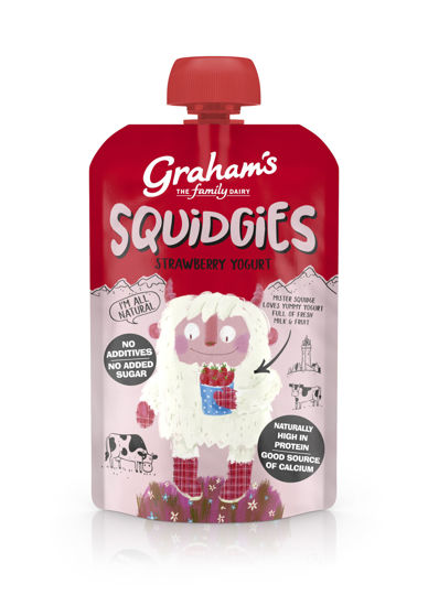 Picture of Graham's Squidgies Strawberry Yogurt 100g x 6