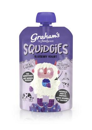 Picture of Graham's Squidgies Blueberry Yogurt 100g x 6