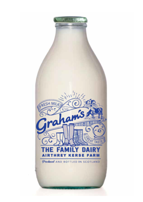 Picture of Semi-Skimmed Milk 1 Pint (Glass Bottle)