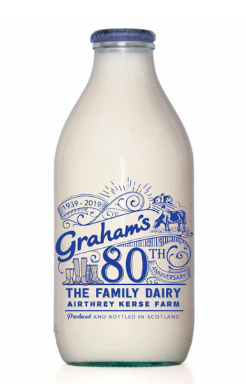 Picture of Organic Whole Milk 1 Pint (Glass Bottle)