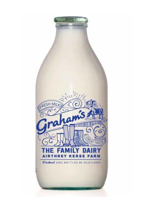 Picture of Organic Semi-Skimmed Milk 1 Pint (Glass Bottle)