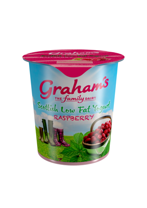 Picture of Low-fat Yogurt Raspberry 150g