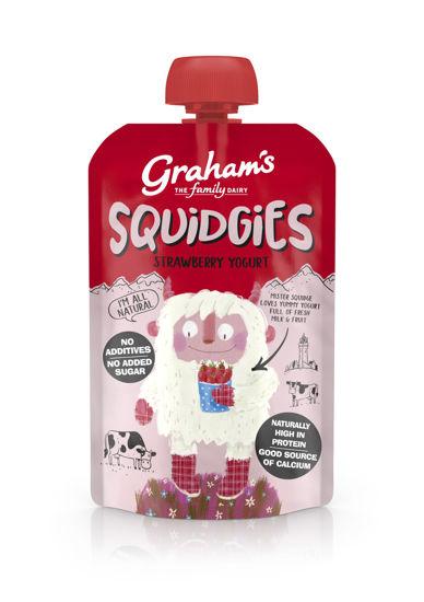 Picture of Graham's Squidgies Strawberry Yogurt 100g