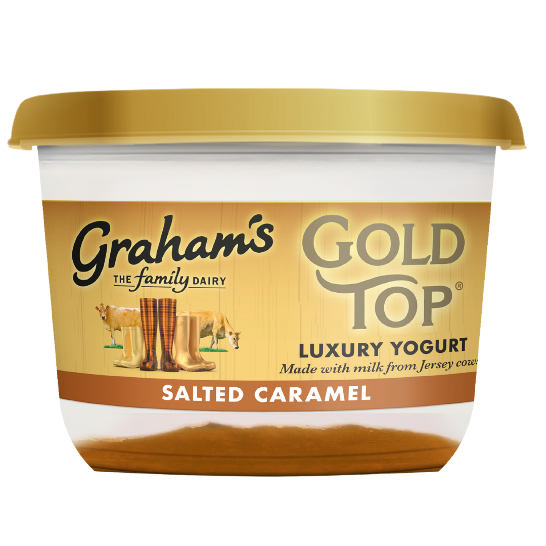 Picture of Graham's Salted Caramel Gold Top Yogurt 450g