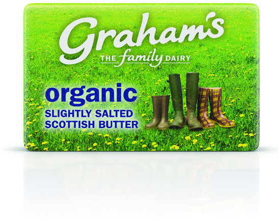 Picture of Organic Scottish Salted Butter 250g