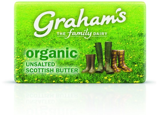 Picture of Organic Scottish Unsalted Butter 250g