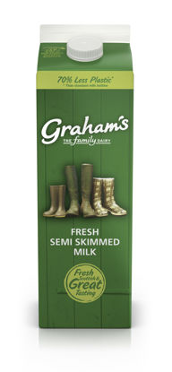 Picture of Semi-Skimmed Milk 1 Litre (Carton)